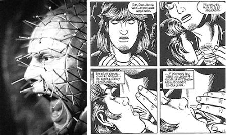 """Pinhead, icono de Hellraiser y escena de """"Agujero negro"""" de Burns"""