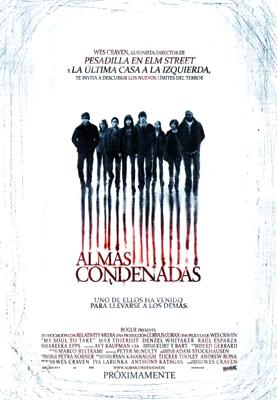 """Cartel de """"Almas condenadas (My Soul to Take)"""". La nueva película de Wes Craven"""