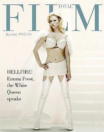 January Jones como Emma Frost en X-Men Primera Generación