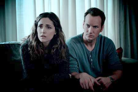 Insidious. Gran interpretación de la pareja protagonista: Rose Byrne y Patrick Wilson