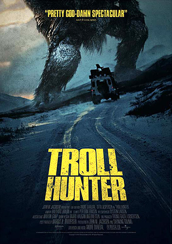 """Troll Hunter"". Póster cartel"