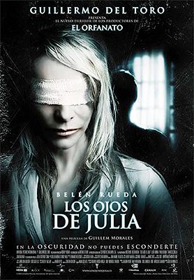 """Cartel póster de """"Los ojos de Julia"""""""