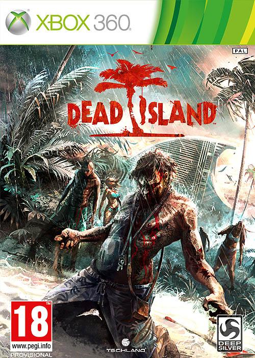 """""""Dead Island"""" portada oficial del videojuego para Xbox 360"""