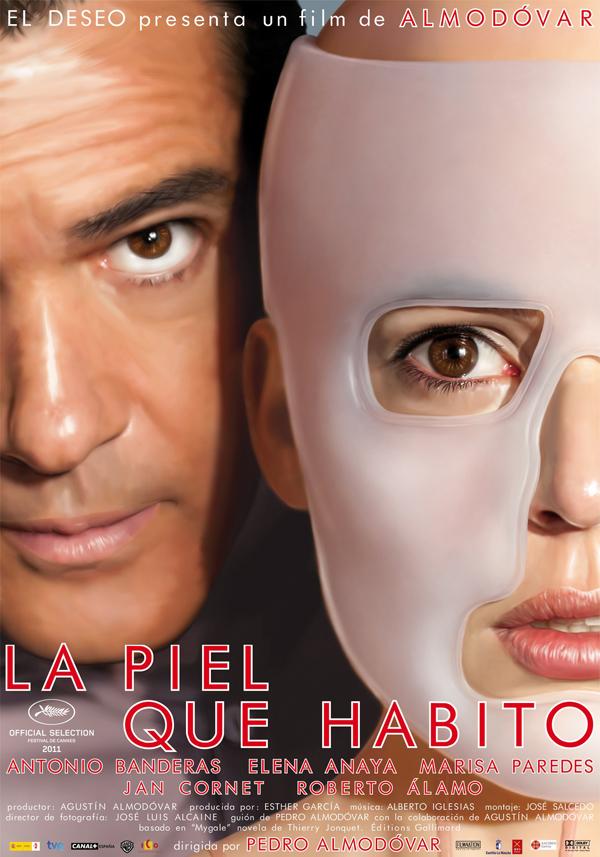 """""""La piel que habito"""", la próxima película de Almodóvar. Cartel - póster"""