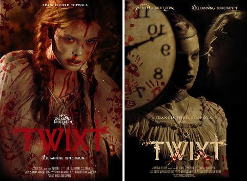 """Pósters oficiales de """"Twixt"""". A elegir uno"""