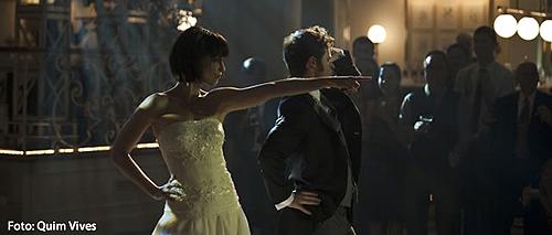 """""""REC 3. Génesis"""". No podía faltar el baile de la boda aunque un tanto hortera parece"""
