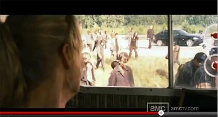 """Fotograma del nuevo vídeo avance largo de la segunda temporada de """"The Walking Dead"""""""
