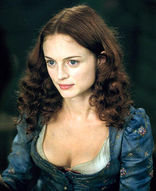 "La bella Heather Graham en ""From Hell"" de lo poco salvable del film"