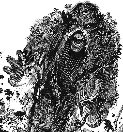 """La cosa del pantano""(Swamp Thing) de Alan Moore"