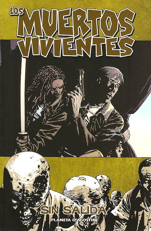 """""""Los muertos vivientes (The Walking Dead)"""". Portada del volumen 14 de la edición española de Planeta"""