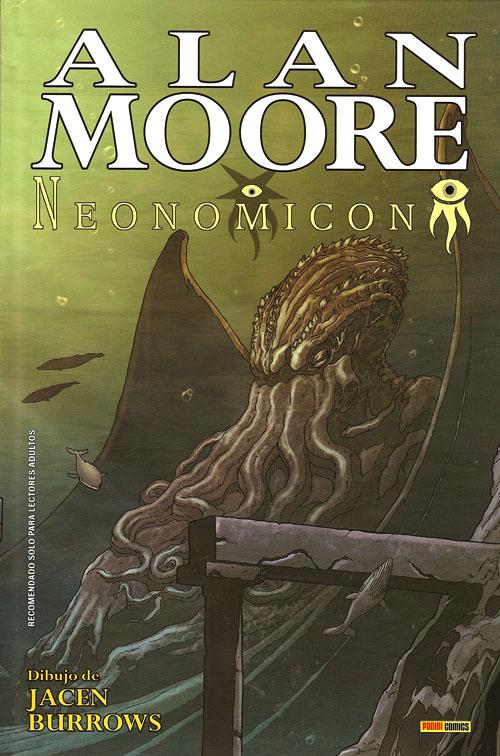 """""""Neonomicon"""" de Alan Moore y Jacen Burrows. Portada del primer tomo de Panini"""