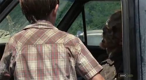 """""""The Walking Dead"""". Niños en un mundo plagado de zombis"""