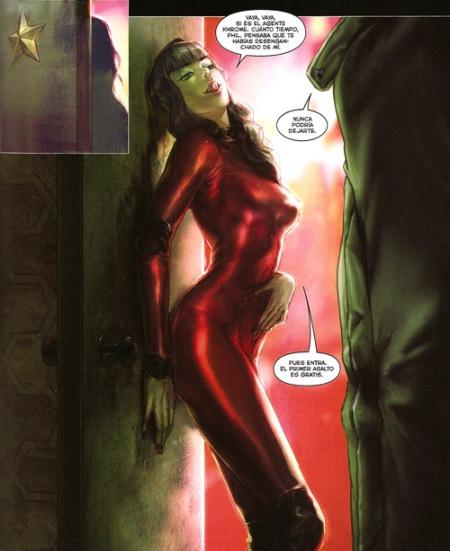 "Khrome es incapaz de amar por lo que frecuenta a una prostituta. Imagen de ""City of dust. Una historia de Philip Khrome"""