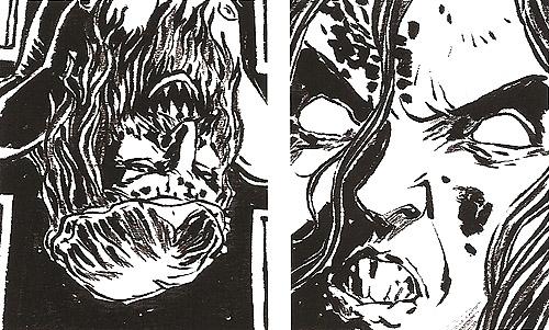 """Cómic """"REC"""" """"Tristana"""": el origen de la maldición de la niña de Medeiros por Feliciano G. Zecchin. La perversión de los símbolos católicos"""