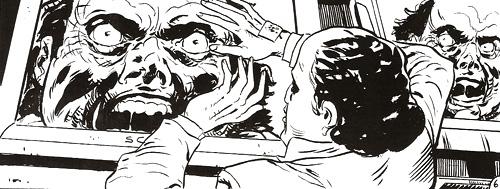 """Cómic """"REC. Historias inéditas"""". """"El desconocido"""" dibujado por Joan Marin. Divertido puente entre REC 2 y REC 3"""