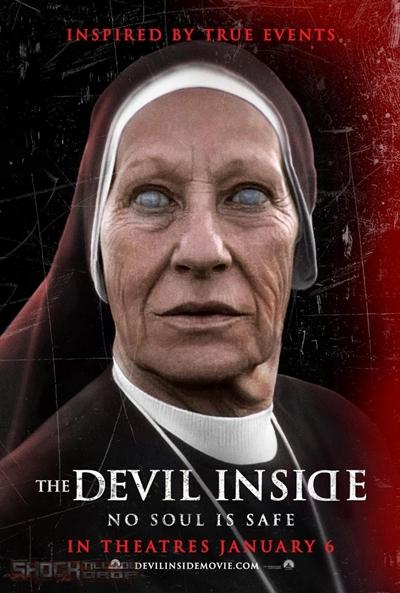 """El mejor cartel-póster de """"The Devil Inside"""" en mi modesta opinión"""