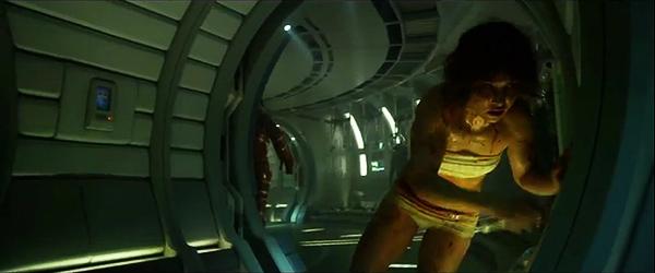 """Imágenes de Noomi Rapace, protagonista del remake de """"Millenium"""", en ropa interior en la precuela de """"Alien"""", """"Prometheus"""""""