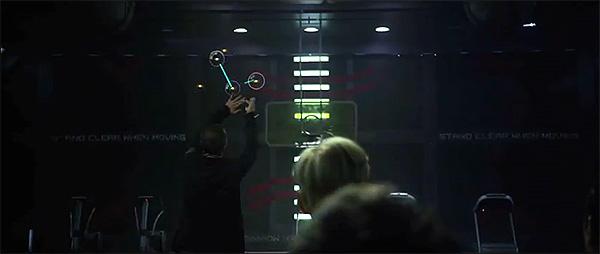 """Imágenes de """"Prometheus"""". Hologramas y control gestual a lo """"Minority Report"""""""