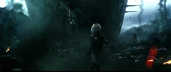 """Prometheus"". Espectacular huida"
