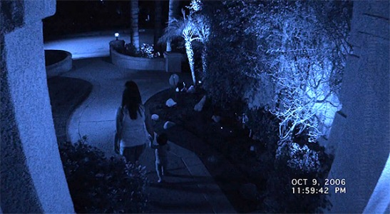 "Fantasmas familiares en ""Paranormal Activity 4"""