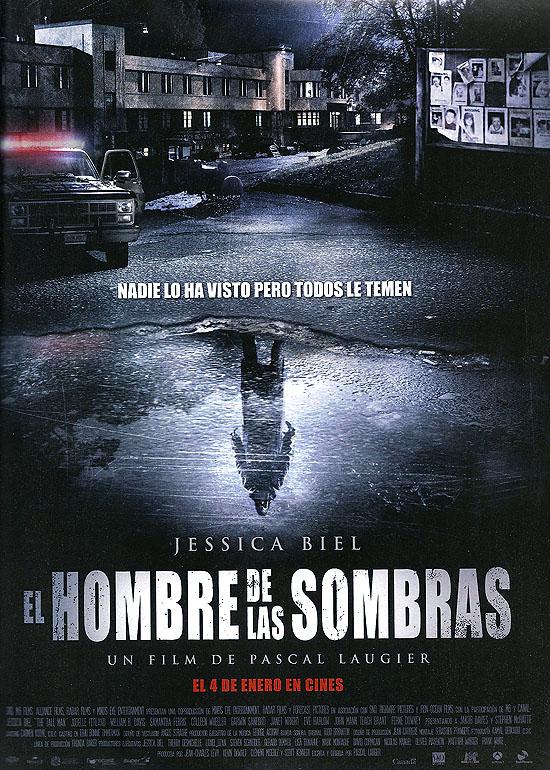 """Cartel español de """"El hombre de las sombras"""""""