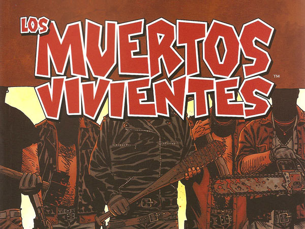 """Detalle de la portada del volumen 17 de """"Los muertos vivientes"""""""