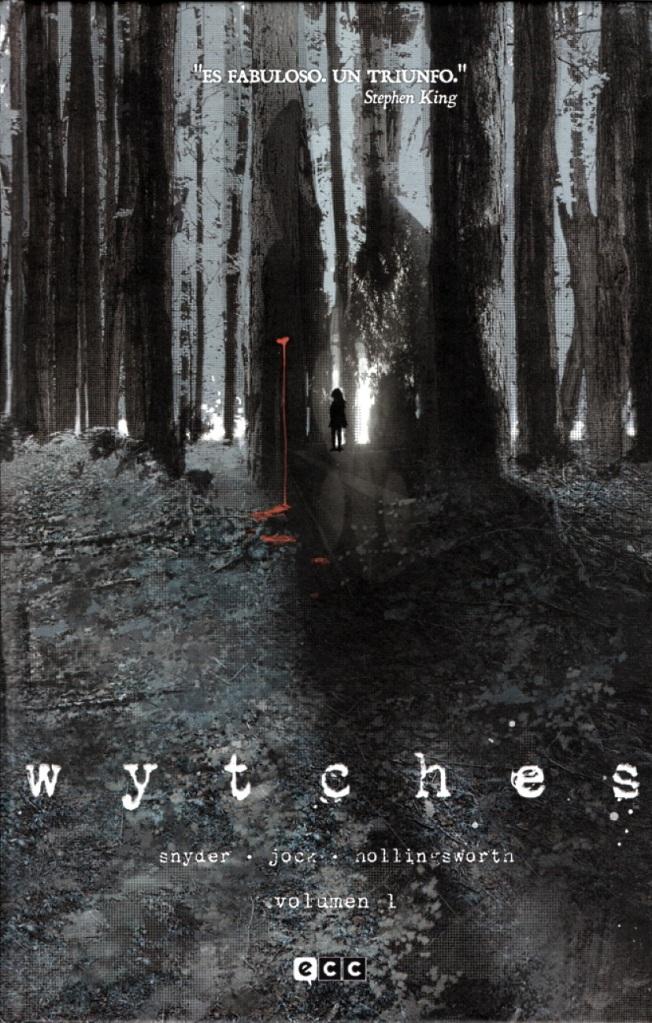 """Portada de la edición española de """"Wytches"""", por Snyder, Jock y Nollingsworth"""