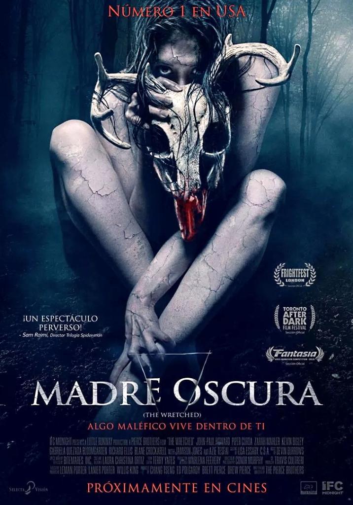Cartel en español de la película Madre oscura