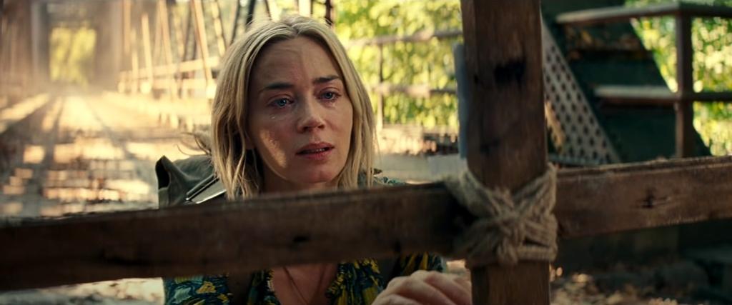Emily Blunt en Un lugar tranquilo 2. Una gran actriz
