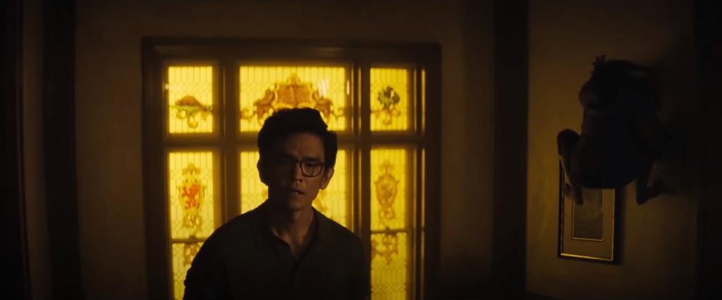 """Imágenes de """"La Maldición"""" (2020). John Cho recordando a """"El exorcista"""""""