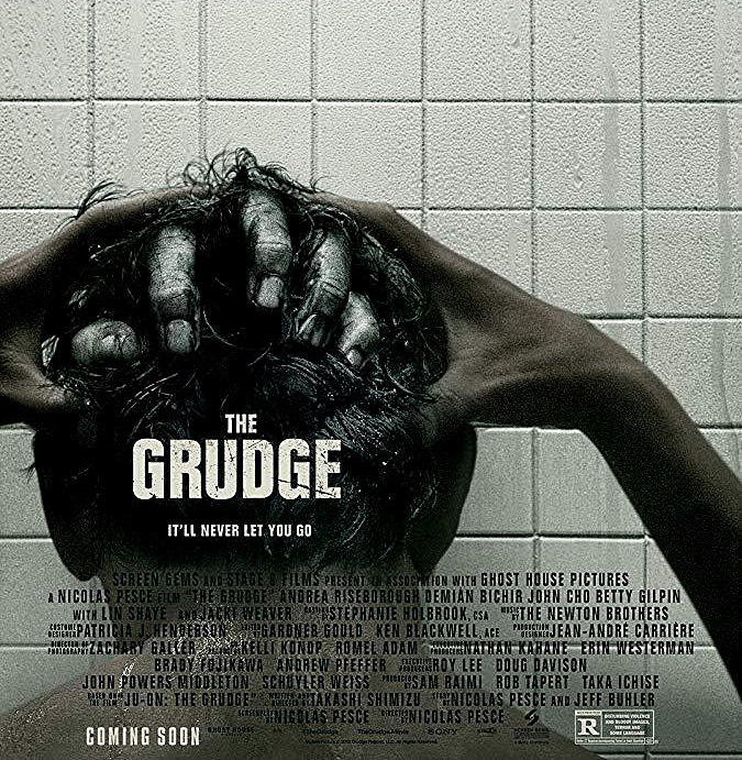 """Detalle del cartel de """"La Maldición"""" o """"The Grudge"""" (2020). Todo vale con tal de sorprender al espectador"""