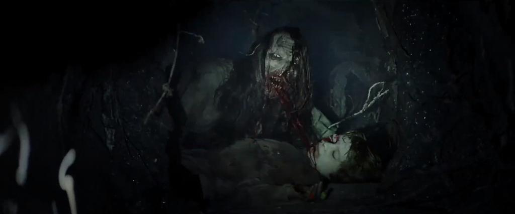 """Imágenes de """"Madre oscura"""" (2020). El gore parece estar bastante presente"""