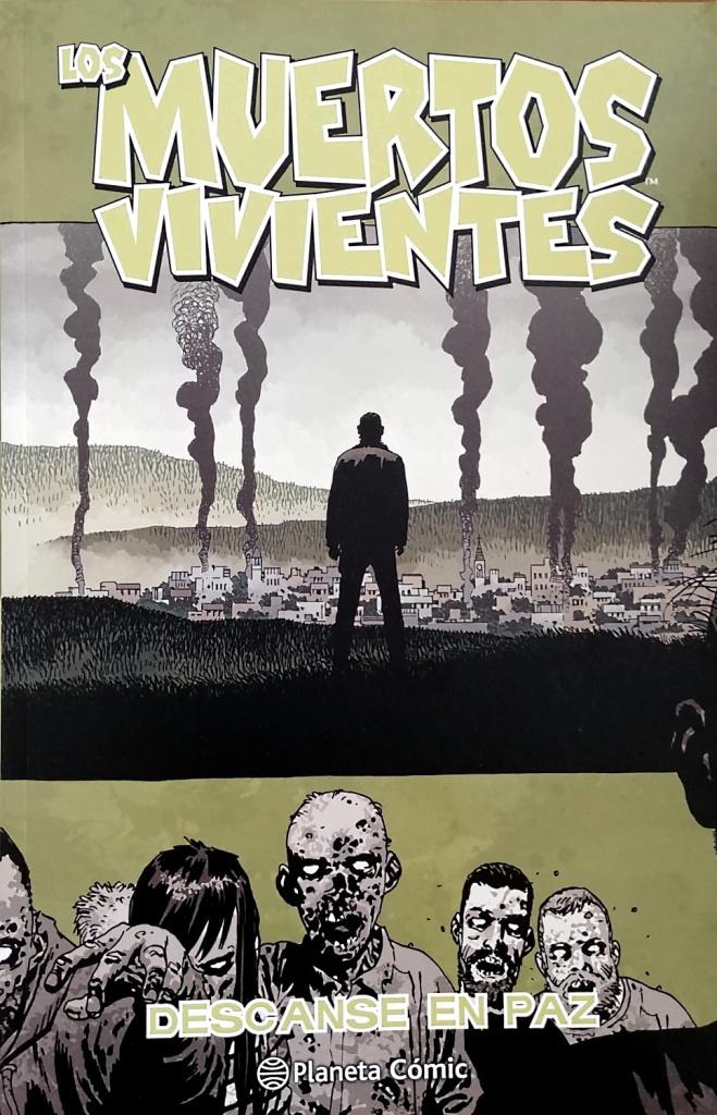 Portada del último volumen del cómic Los muertos vivientes
