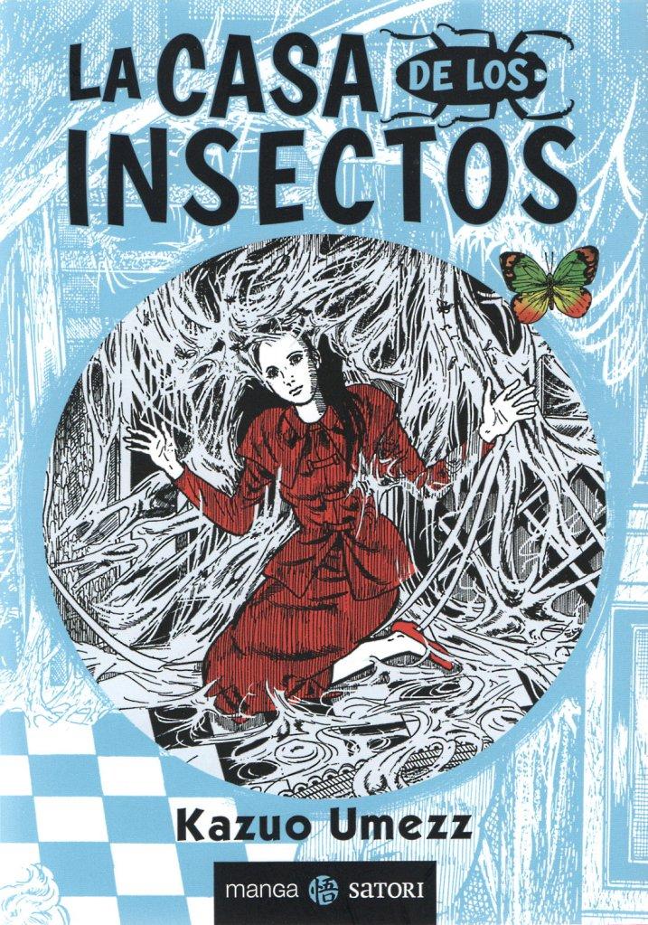 Portada de La casa de los insectos de Kazuo Umezz