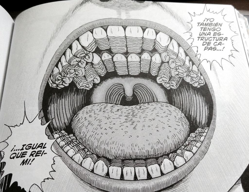 JUNJI ITO: Las capas del terror. Únicamente a un dentista como Ito se le podría haber ocurrido esta idea