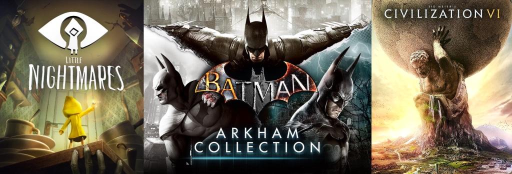 terrores.blog | Sorteos de juegos: Little Nightmares, Batman: Arkham Collection y Civilization VI. Del 25 de noviembre al 4 de diciembre de 2020