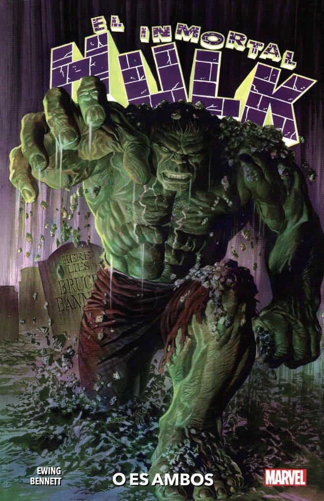 Portada del primer tomo de Marvel Premiere dedicado a El Inmortal Hulk