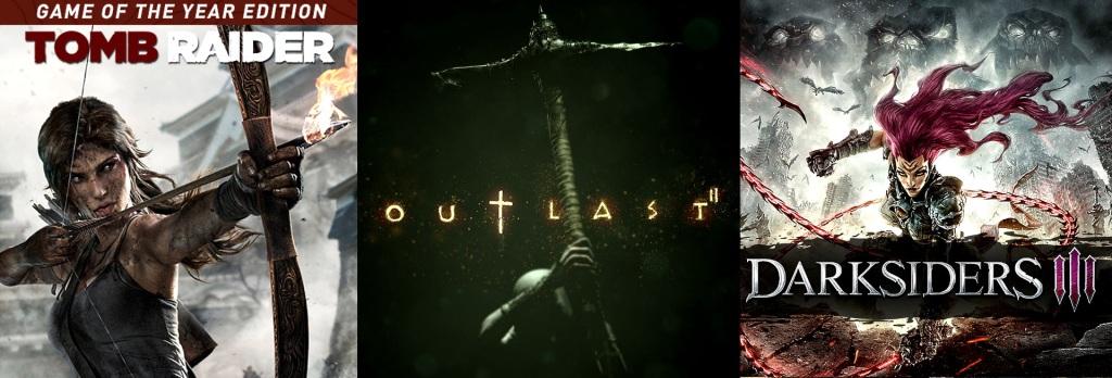 terrores.blog | Sorteos de juegos: Tomb Raider GOTY, Outlast 2 y Darksiders 3. Del 3 al 12 de diciembre de 2020