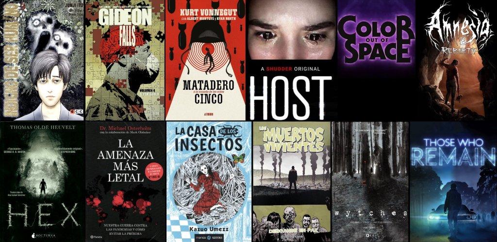 Las 12 mejores obras de terror de 2020 según terrores.blog (películas, cómics, juegos y libros)