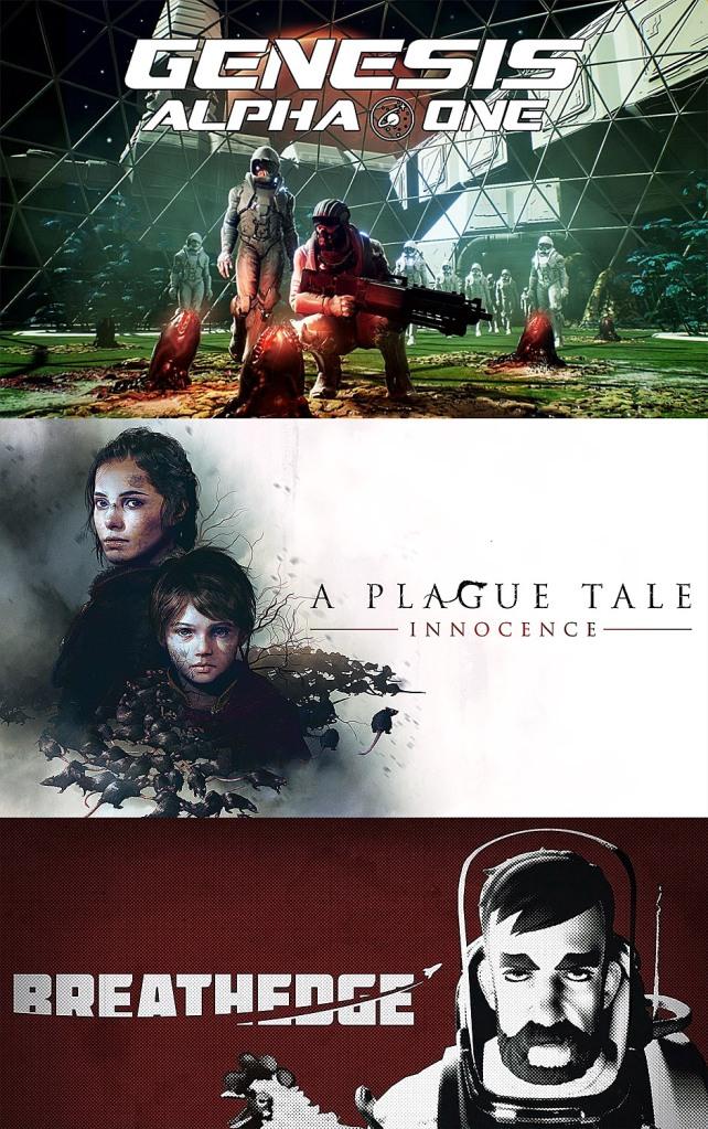 terrores.blog   Sorteos de juegos: Génesis Alpha One Deluxe Edition, A Plague Tale: Innocence y Breathedge. Del 9 al 18 de febrero de 2021