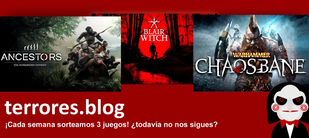 terrores.blog | Sorteos de juegos: Ancestors: The Humankind Odyssey, Blair Witch y Warhammer Chaosbane. Del 30 de enero al 8 de febrero de 2021