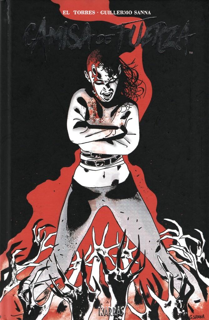 Portada de la reedición del cómic Camisa de fuerza (2021)