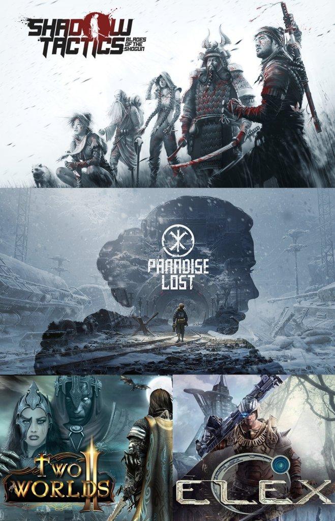 terrores.blog | Sorteos de juegos:Shadow Tactics: Blades of The Sogun,Paradise Lost,ElexyTwo Worlds II. Velvet Edition. Del 4 al 14 de abril de 2021