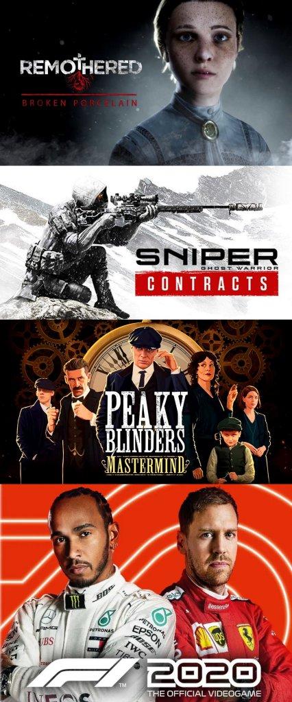 terrores.blog | Regalamos 4 juegos:Remothered: Broken Porcelain,Sniper Ghost Warrior Contracts,Peaky Blinders: MastermindyF1® 2020. Del 26 de abril al 6 de mayo de 2021
