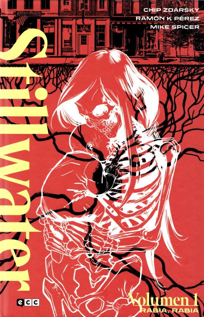 Portada de la edición española del primer volumen de la serie Stillwater
