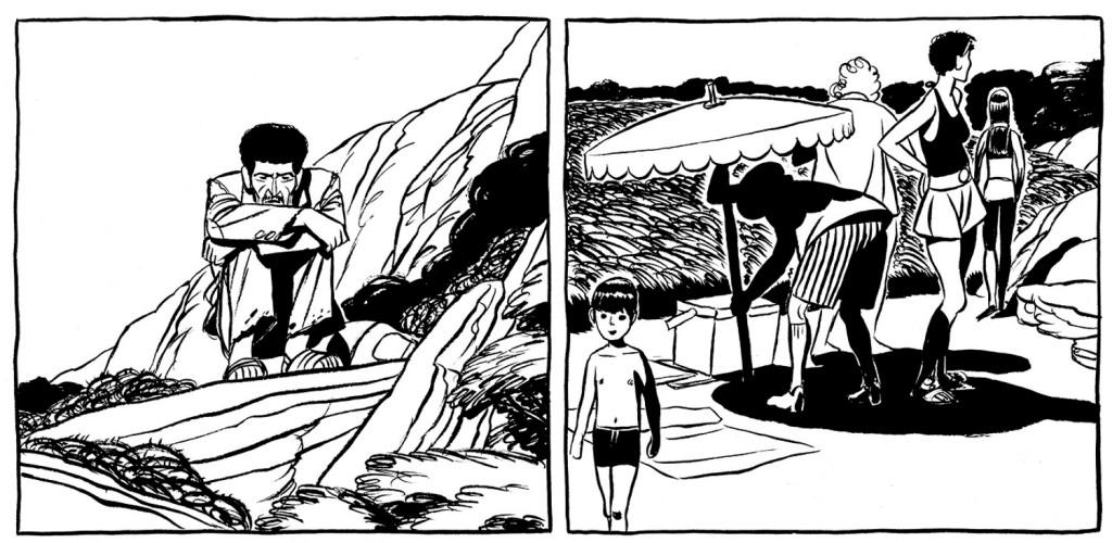 La soledad del inmigrante en la novela gráfica Castillo de arena