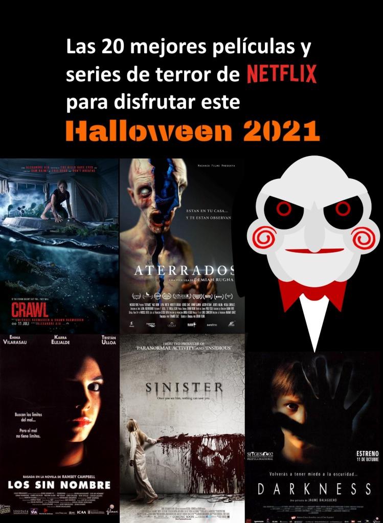 Las 20 mejores películas y series de terror de Netflix para Halloween 2021 según terrores.blog